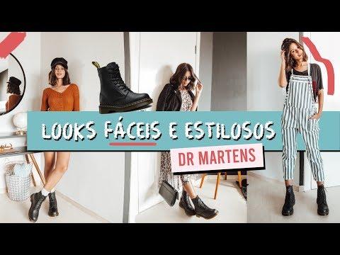 Dicas de looks com coturno Dr Martens - Viihrocha