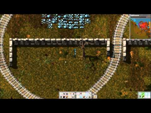 [17] Let's Play Factorio - Rail Lines