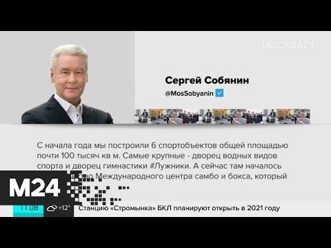 Международный центр самбо и бокса начали строить в Москве - Москва 24