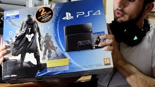 PS4 Destiny Bundle + PSVita Unbox სრული ვიდეო