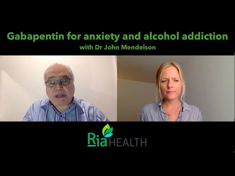 gabapentin-for-anxiety,-alcohol-addiction-and-withdrawal---dr-mendelson,-addiction-specialist