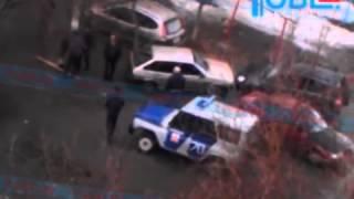 У Киштиме на відео зняли атаку водія з битою на Chevrolet Niva