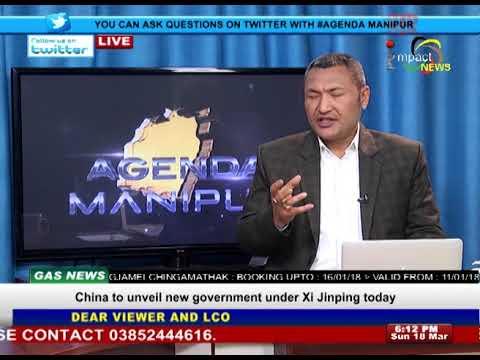 Pre Merger Status of Manipur On Agenda Manipur 18 March 2018