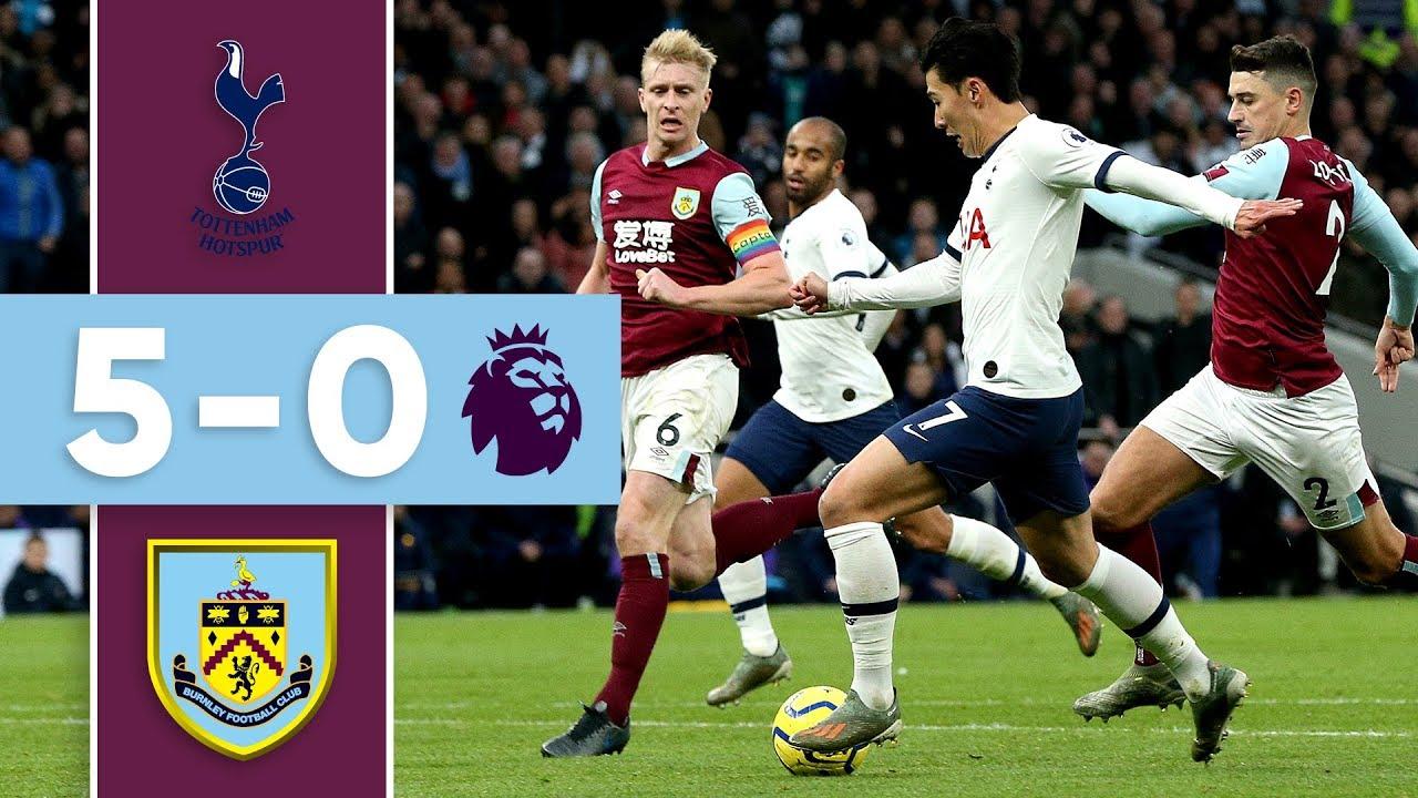Spurs Ruthless The Goals Tottenham V Burnley   Youtube