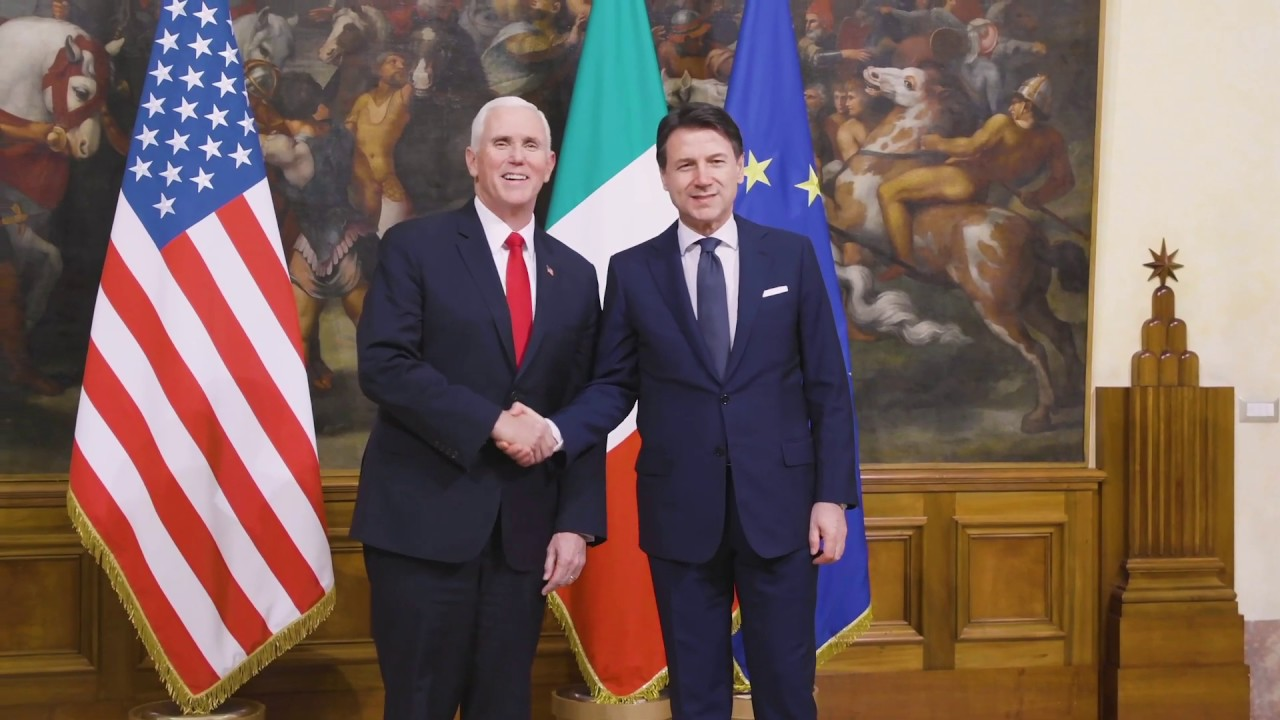 Vice President Pence Visits Italy - The White House