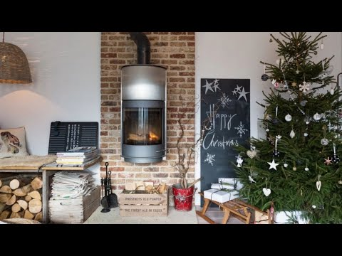 house tour modern rustic english home christmas decor - Modern Home Christmas Decor