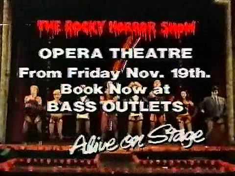 The Rocky Horror  in Australia 1974  1988