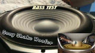 Sony Shake Woofer - Bass test 🔊