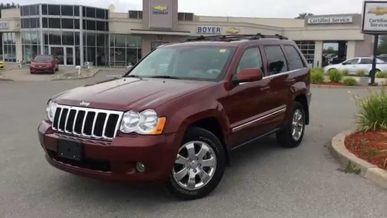 Perfect 2008 Jeep Grand Cherokee 4WD Limited   Diesel, Loaded | Boyer Chevrolet  Lindsay | 14380A