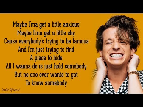 Charlie Puth - THE WAY I AM (Acoustic) (Lyrics)