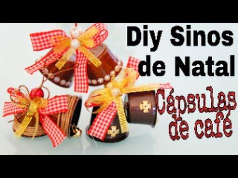 DIY - CÁPSULAS DE CAFÉ EM SINOS DE NATAL #1ªNATAL 2