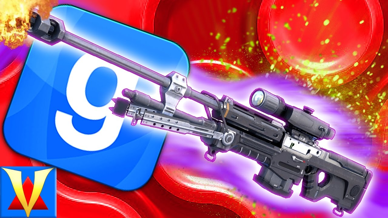 FUN COLORFUL SNIPER RIFLES! Garry's Mod Funny Deathmatch Battle Mod (Gmod)