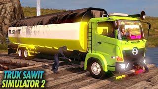 Gambar cover Keren!! Bisa Nyuci Mobil di Sungai - Hino New Gen - Euro Truck Simulator 2