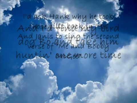 Justin Moore; If Heaven Wasn't So Far Away [ON-SCREEN LYRICS]
