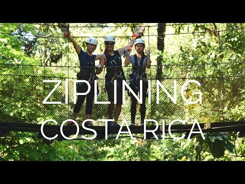 Costa Rica Travel Vlog: Rainforest Adventures Zipline