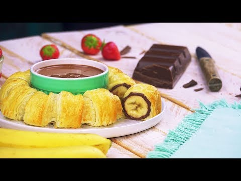 couronne-banane-nutella-:-une-gourmandise-royale-pour-le-goûter