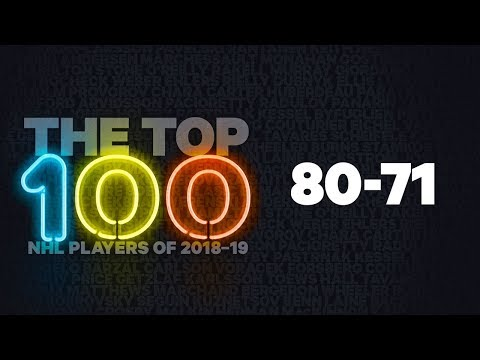NHL Top 100 Players of 2018-19: 80-71
