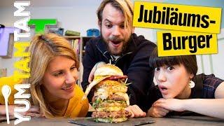 Jubiläumsburger // Crazy Burger #10 // #yumtamtam