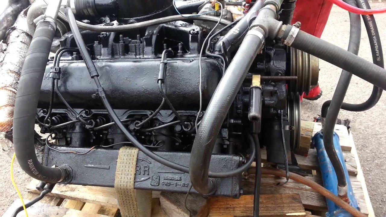 Gm marine v8 diesel boat engine