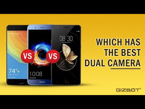OnePlus 5 vs Honor 8 Pro vs Nubia M2 Which has the best dual-camera setup ! - GIZBOT