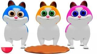 trzy mae kocieta rymowanek dla dzieci koysanki przedszkolnym piosenki three little kitten