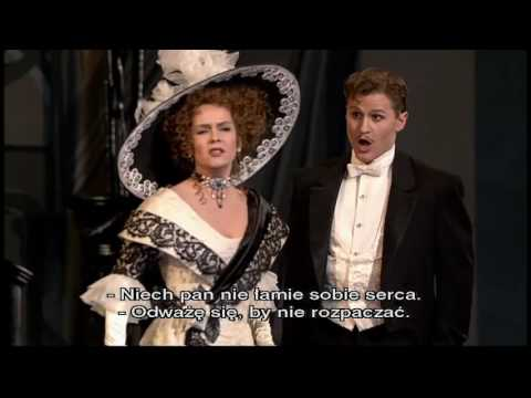 """The Merry Widow"" -  operetta DVD full act 1,2 (Wesoła Wdówka, napisy PL)"
