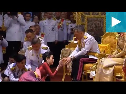 Download Thailand's king anoints mistress as his royal noble consort