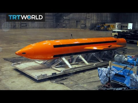 Afghanistan Super Bomb: US targets Daesh with biggest non-nuclear bomb