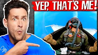 Pulling 9.2 G's With The Thunderbirds | What Happens to Your Body In an F16
