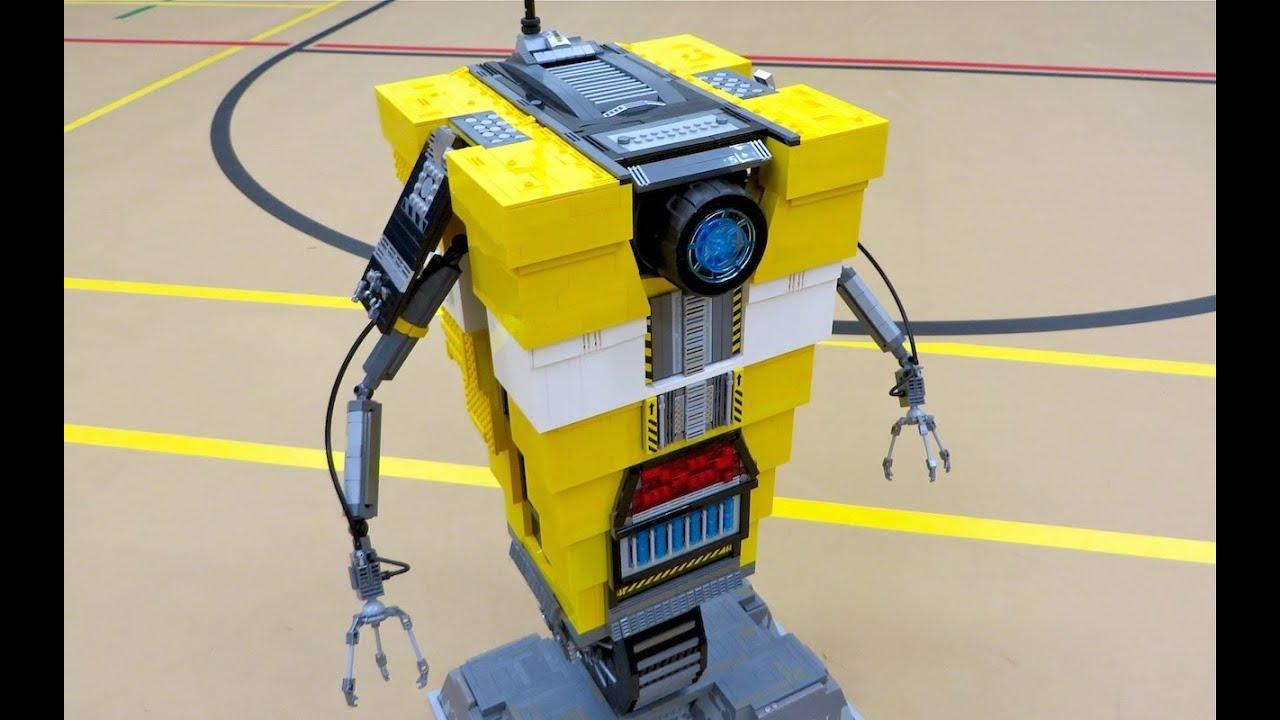 Lego claptrap borderlands the pre sequel youtube