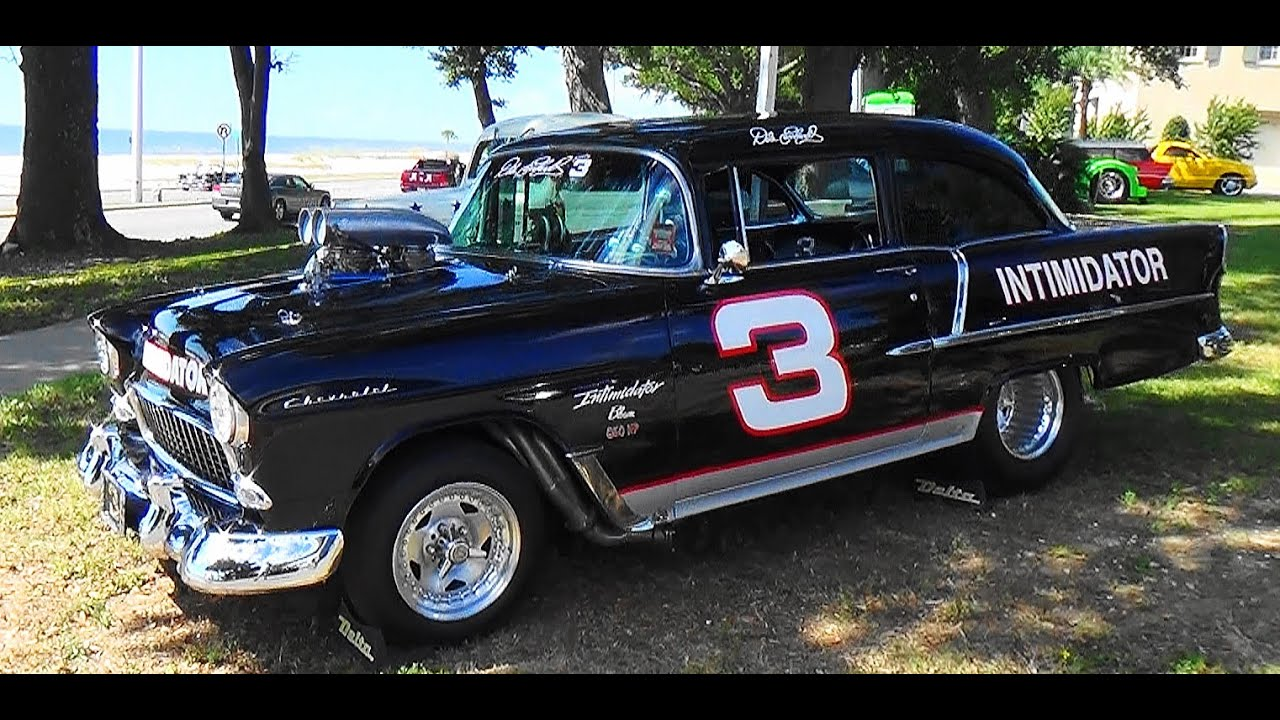 "Image result for 55 Chevy ""Dale Earnhardt"" Edition Cruisin' The Coast 2015"