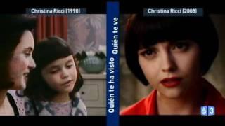 Quién te ha visto y quién te ve: Christina Ricci