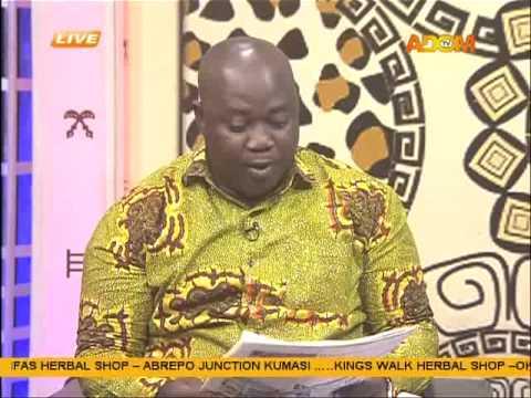 Asem Kesee - Badwam on Adom TV (7-9-15)