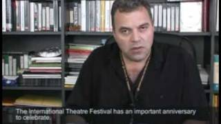 Interview with Constantin Chiriac, director of the Sibiu International Theatre Festival