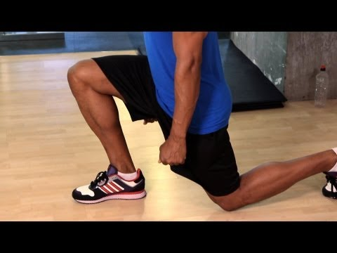How to Do a Lunge   Gym Workout
