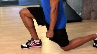 How to Do a Lunge | Gym Workout
