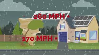 Are Solar Panels Safe in a Hurricane?