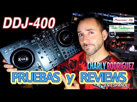 Pioneer DDj 400 (Pruebas Y Reviews) en Español