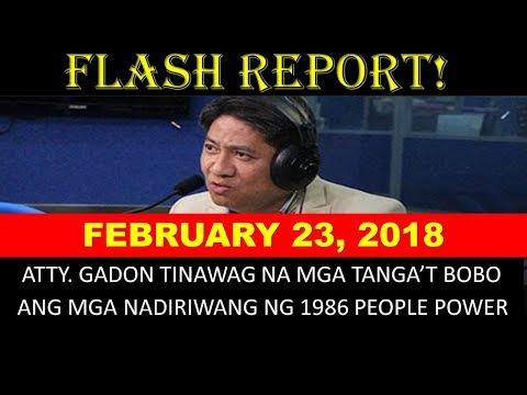 DZRH Network News - February 23, 2018