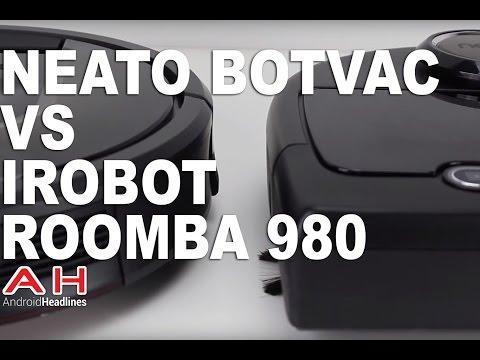 Vacuum Wars: Neato Botvac Connected vs iRobot Roomba 980
