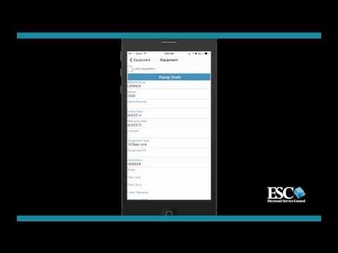 ESC Mobile Tech App