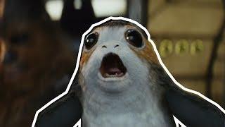 Porgs! Love Them Or Hate Them - Every Porg Scene in Star Wars: The Last Jedi HD