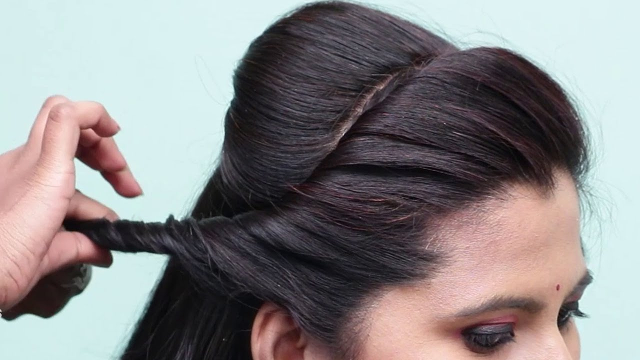 Easy, Simple & Quick Hairstyles | Easy Bun Hairstyles for Wedding/Party 😍 @PlayEven Fashions