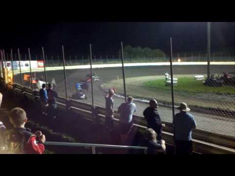 Heat race 2 at English Creek Speedway 7-15-16