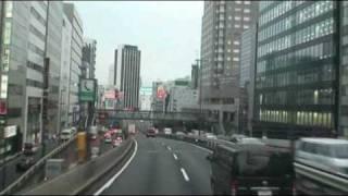 【前面展望】東名ハイウェイバス 綾瀬BS→東京駅