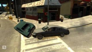 GTA IV - Batidas de carro/ Crashs by car