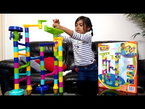 Fun Kids Marble Run | Surprise Toy Unboxing and Playtime