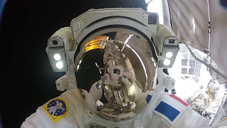 Gopro Video: Action Cam Footage from U S  Spacewalk #40
