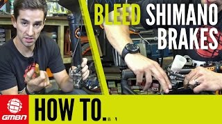 How to Bleed Shimano Disc Brakes – Mountain Bike Maintenance