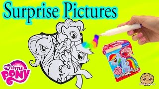 My Little Pony Imagine Rainbow Ink Book with Surprise Color Pictures Cookieswirlc Video